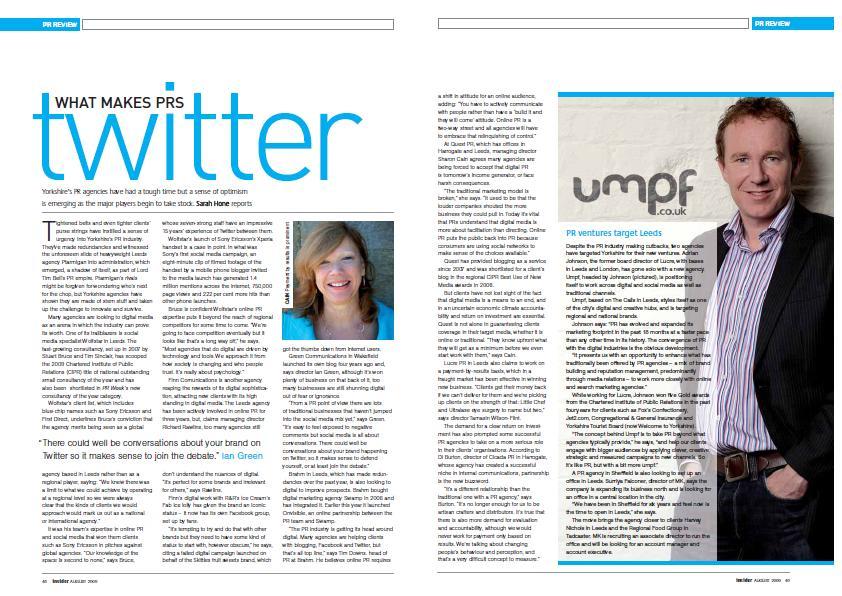 Insider Umpf launch