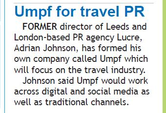 Travel Daily: Umpf launch