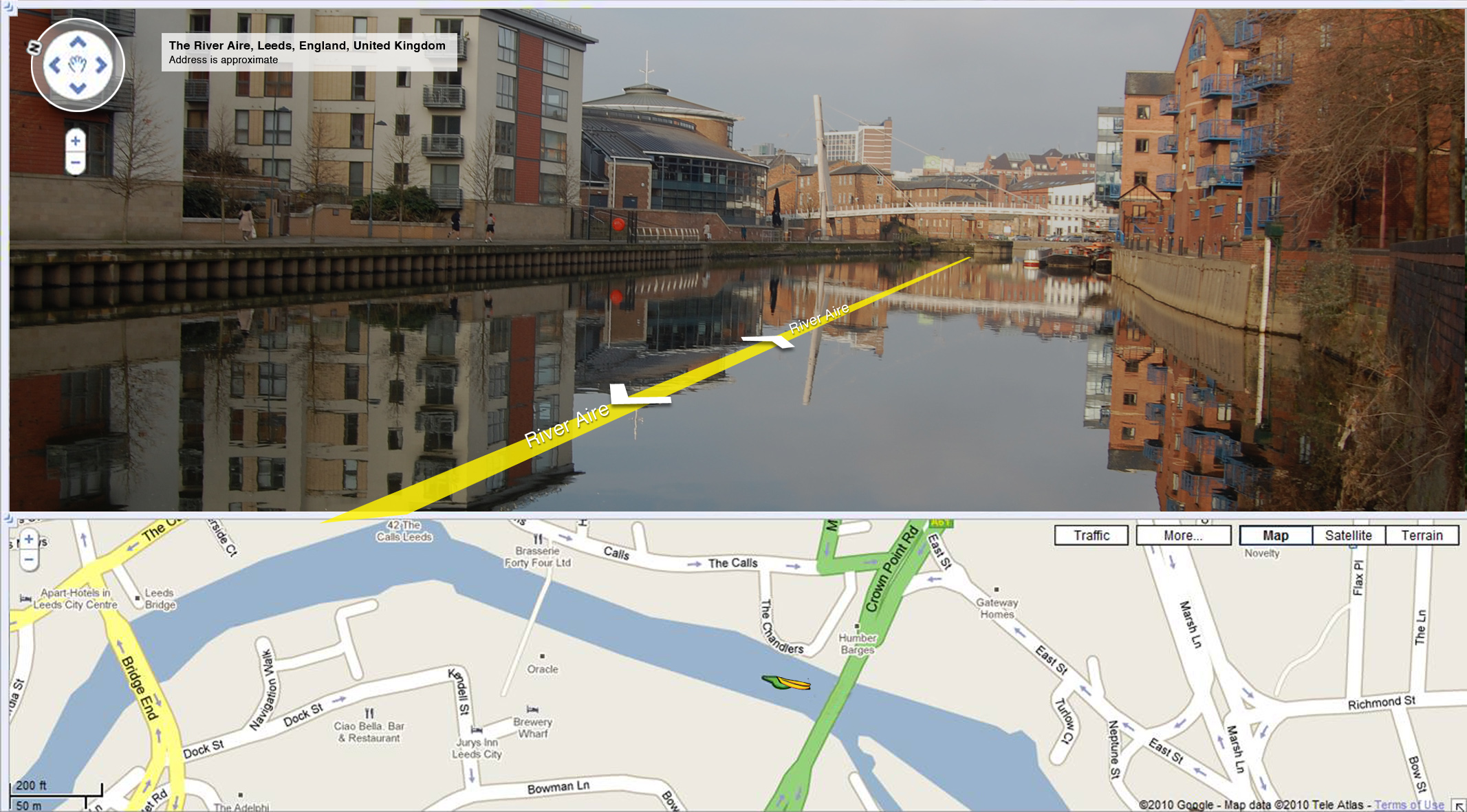 Google Canoodle: Google River View
