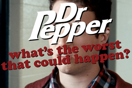 Dr Pepper - Porn to be wild?