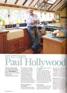 Paul Hollywood in BBC Good Food for Stoves