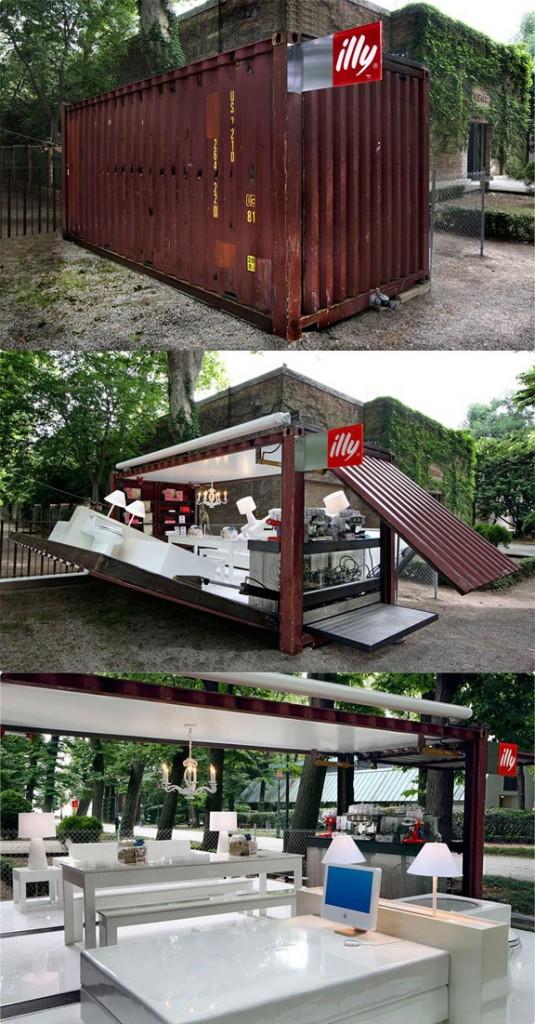 Umpf Pop-Up PR Adam Kalkin's Illy cafe New York