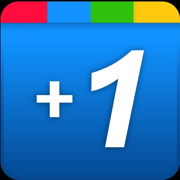 +1 icon Google