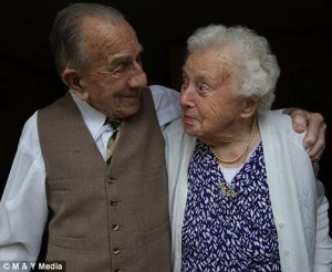 Britains oldest couple