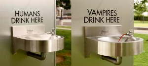 Vampire Drinking Fountain