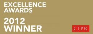 Umpf Best Use of Social Media CIPR Excellence Winner 2012