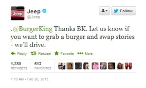 Jeep Burger King