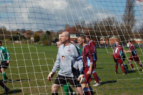 Ed Balls Morley Town Umpf social media stunt goalkeeper