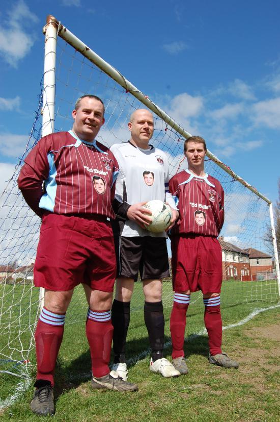 Ed Balls Morley Town Umpf social media stunt trio