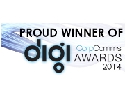 Corp Comms Digi Awards Winner 2014 logo website
