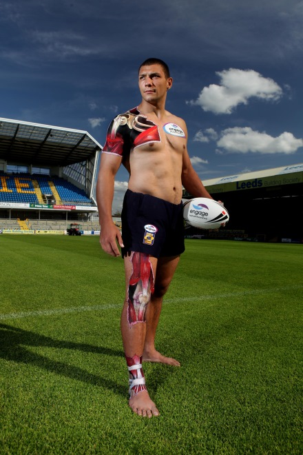 Engage rugby fit challenge Ryan Hall standing 440