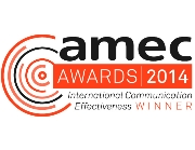 Umpf PR and social media agency award winner AMEC