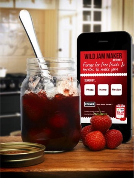 Jam Jar app WI and Stoves Real Jam Festival 440
