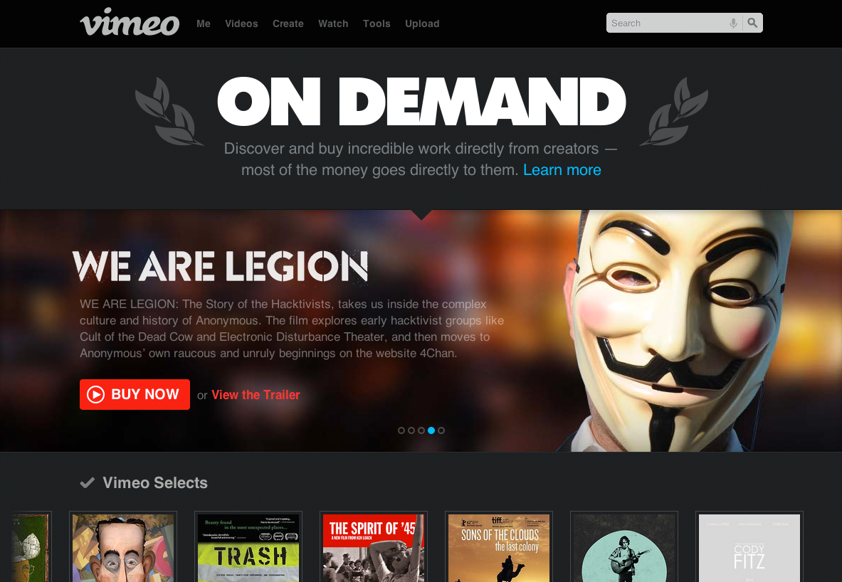 Video-Production-Sydney-Vimeo-on-Demand-homepage