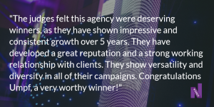 Northern Marketing Awards 2015 Judges comments logo
