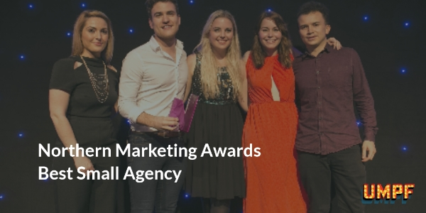Northern Marketing Awards Best Small Agency