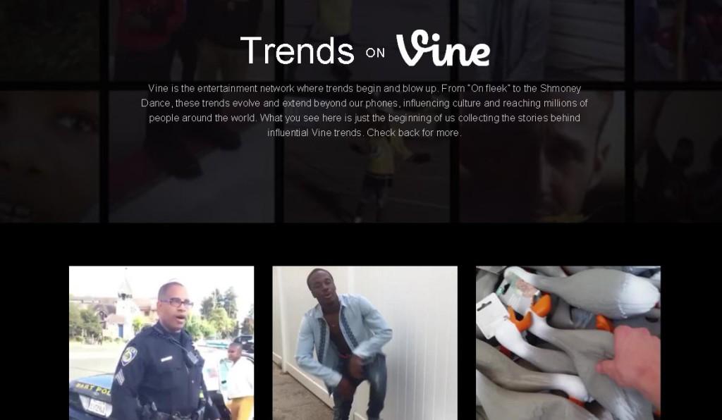 Vine Trends