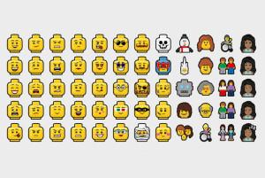 Lego Emojis