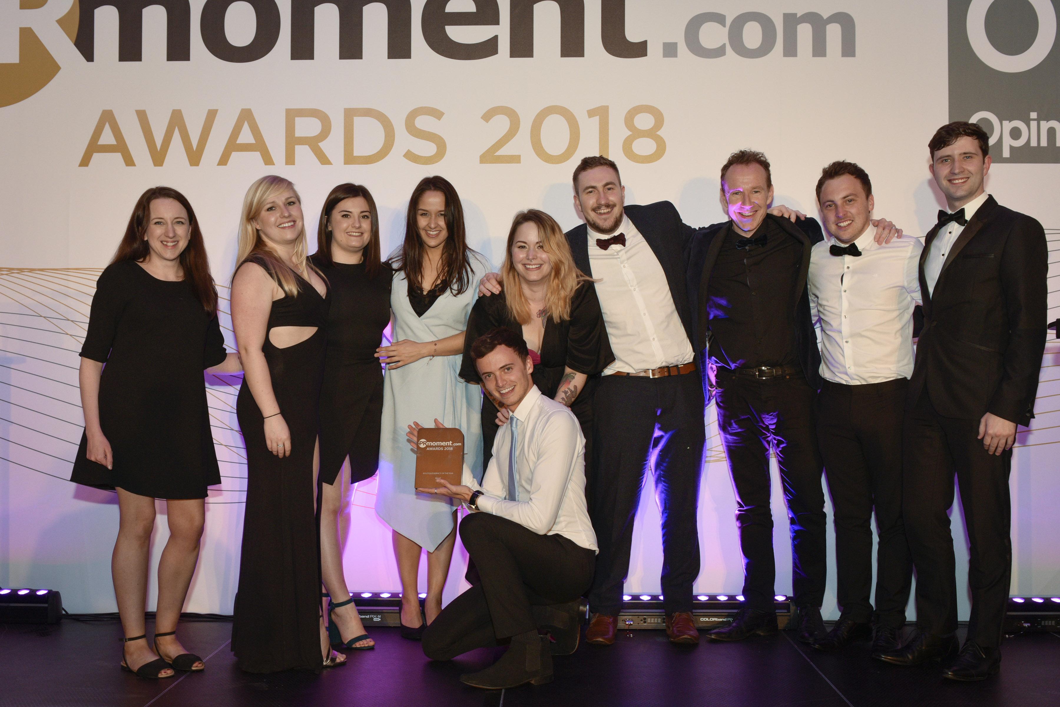 PR Moment awards 2018