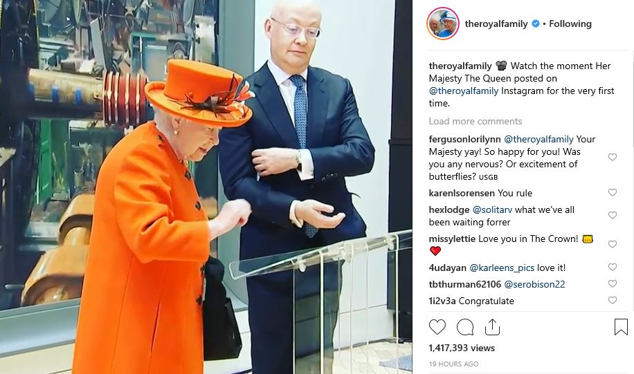 The Queen Instagram