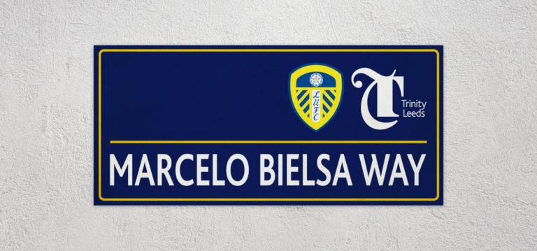 Bielsa Way Sign