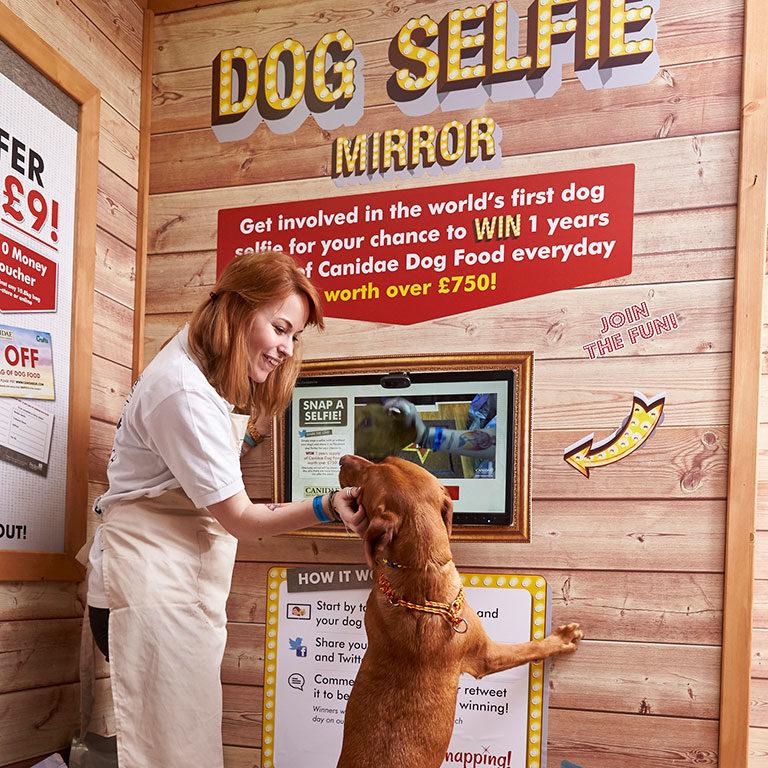 Canidae Dog Selfie Mirror
