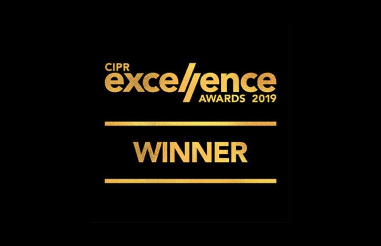 CIPR Excellence Award Winner