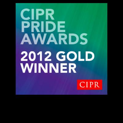 CIPR Pride Awards 2012