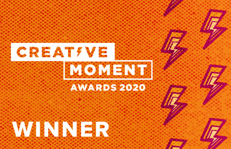 Creative Moment award logo for Stunt of The Year Winner 2020